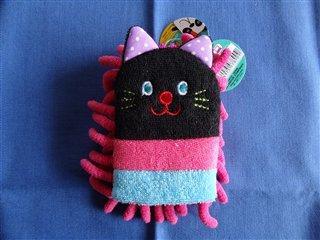 黒猫モップ