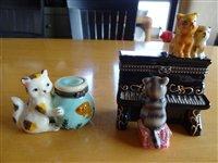 陶器の猫仲間