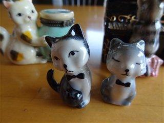 陶器の猫ちゃん♪