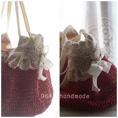 pink ami bag