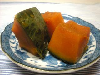 かぼちゃの甘煮 西 健一郎 ver.