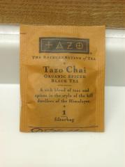 スタ-バックスコーヒーのTazo Cgai ティーバッグ