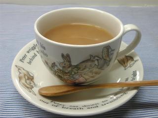 Tazo Chaiのミルクティー