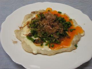 大和芋の卵のっけ焼き