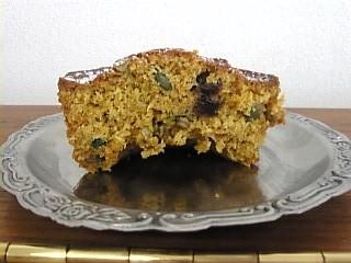 アンデルセンのキャロットケーキ 断面