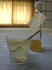 レモンジンジャーシロップとレモネード