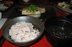 夕食 地魚のソテー和風ソース