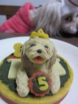 2011.1.1ロビナのケーキ