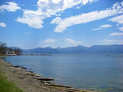 6月1日の屈斜路湖