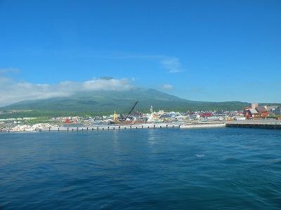 沓形港と どんと岬