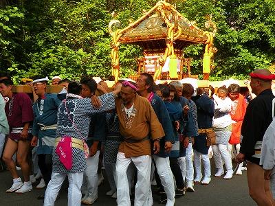 川湯神社夏祭り