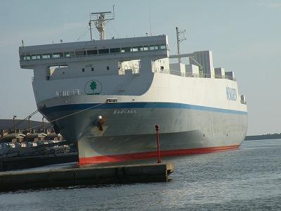 ある日の釧路港