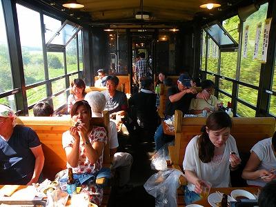 オホーツク・バーベキュー列車