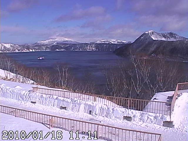 1月16日の摩周湖