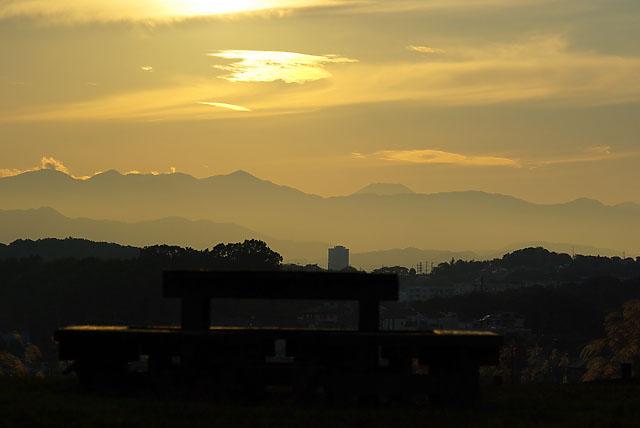 黄昏の丘06