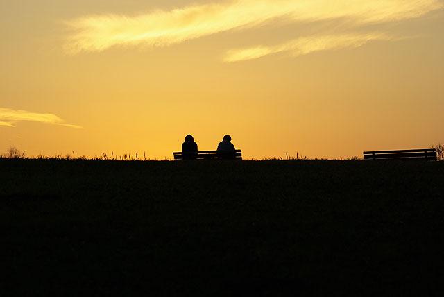 黄昏の丘11