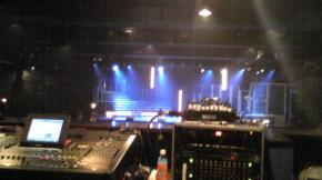 終演後舞台 15時03分