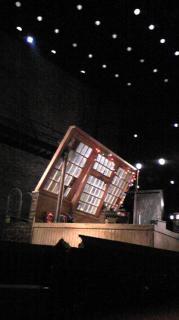 開演24分前!!シアタークリエ 本日の座席からの眺め。