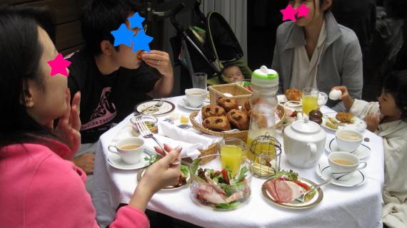 楽しい朝食