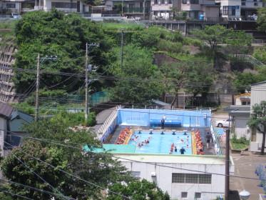 プールの授業