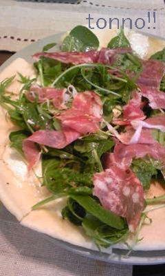 サラダpizza2