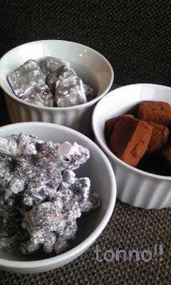 生チョコ達1