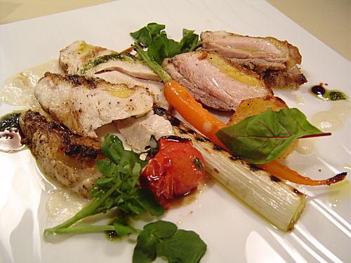 名古さんの浜島産雉肉をつかった料理