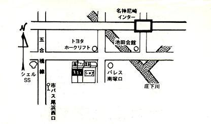 シェフ地図