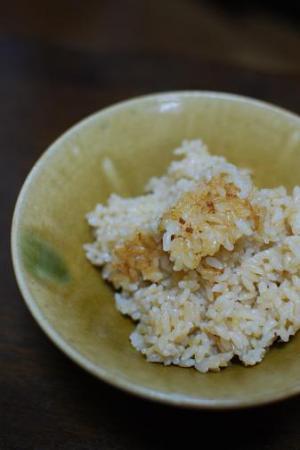圧力鍋で玄米