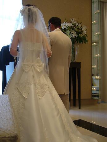 妹の結婚式