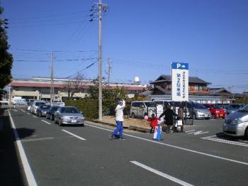 混雑駐車場