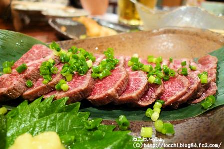 石垣牛のたたき<沖縄1日目・夕食>