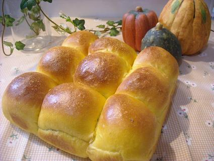 かぼちゃ ちぎりパン2