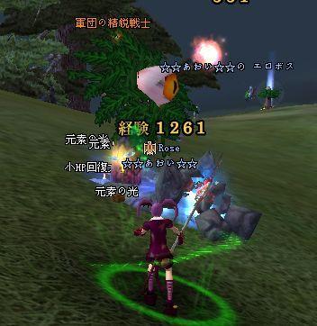 2009-01-01 23-52 強襲雑魚♪