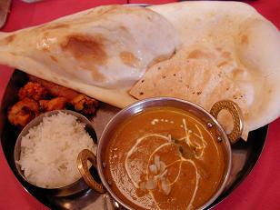 インドカレー 野菜1