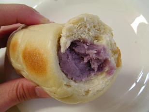 あっこちゃん 紫ポーネベーグルコロネ2