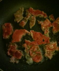 山椒の牛肉丼4