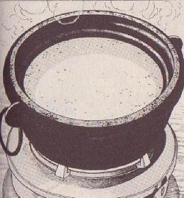 ホワイトソース仕立ての鍋図1