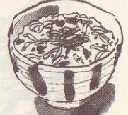 シラスの炊き込みご飯図