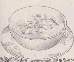 キャベツのスープ図