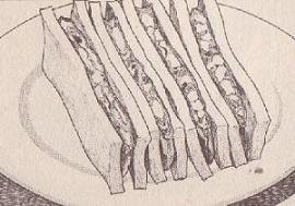 エビ・タマサンドイッチ図