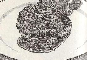 イタリア風ハンバーグ図