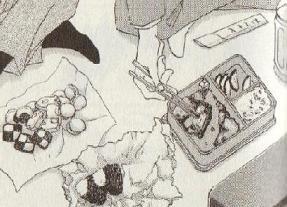 橘圭一郎の差し入れお弁当図