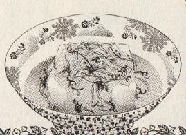豆腐の五色あんかけ図