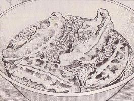煮込み餃子麺図