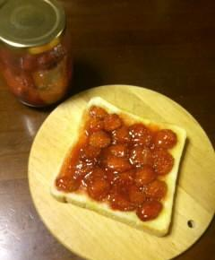いちごジャムのトースト10