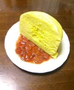 トウモロコシ蒸しパン自家製ジャム添え10