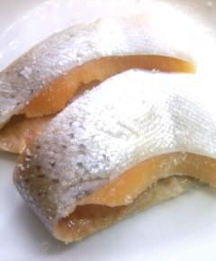 至高のメニューの鮭料理二種1