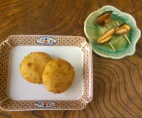 至高のメニューの鮭料理二種11