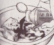 焼肉のタレをドボリ